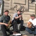 Strassenmusik in Lille